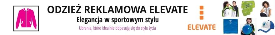 Odzież reklamowa Elevate