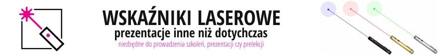 wskaźniki laserowe